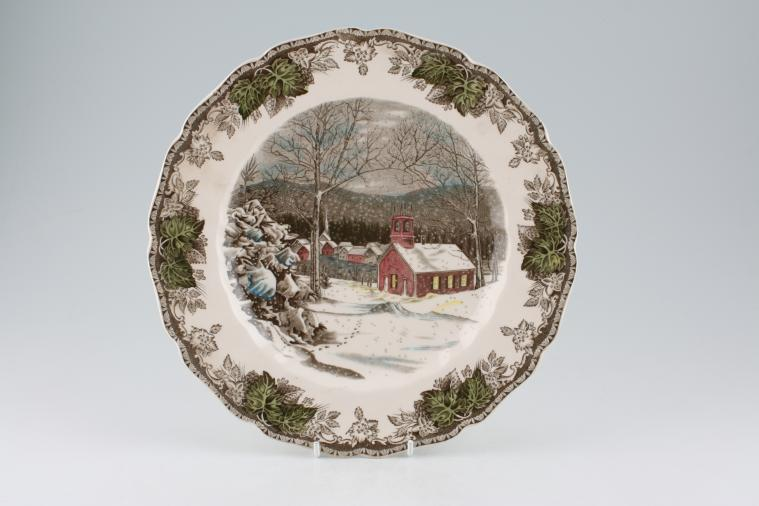 Johnson Brothers - Friendly Village - The - Dinner Plate - The School House