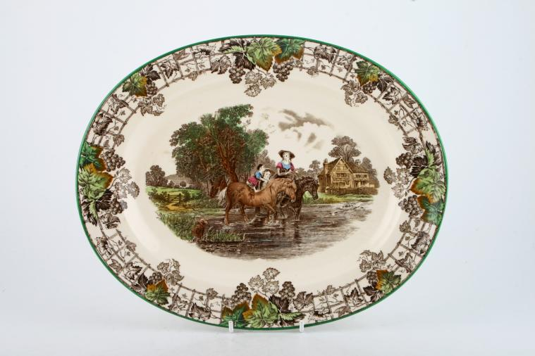 Oval Plate  Platter £3655  1 in stock to buy now