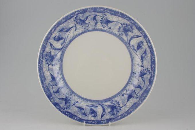 "Churchill Cornflower Dinner Plate 10 3/8"""