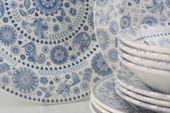 Churchill Penzance 12 Piece Set 4 x 27cm dinner plates, 4 x 21cm side plates & 4 x 20cm bowls thumb 2