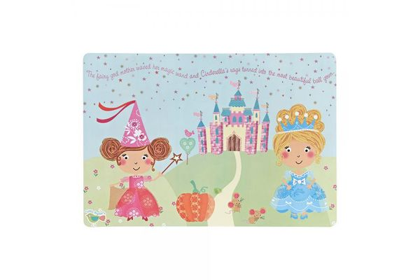 Churchill Little Rhymes Collection - Cinderella Placemat 40 x 27.5cm