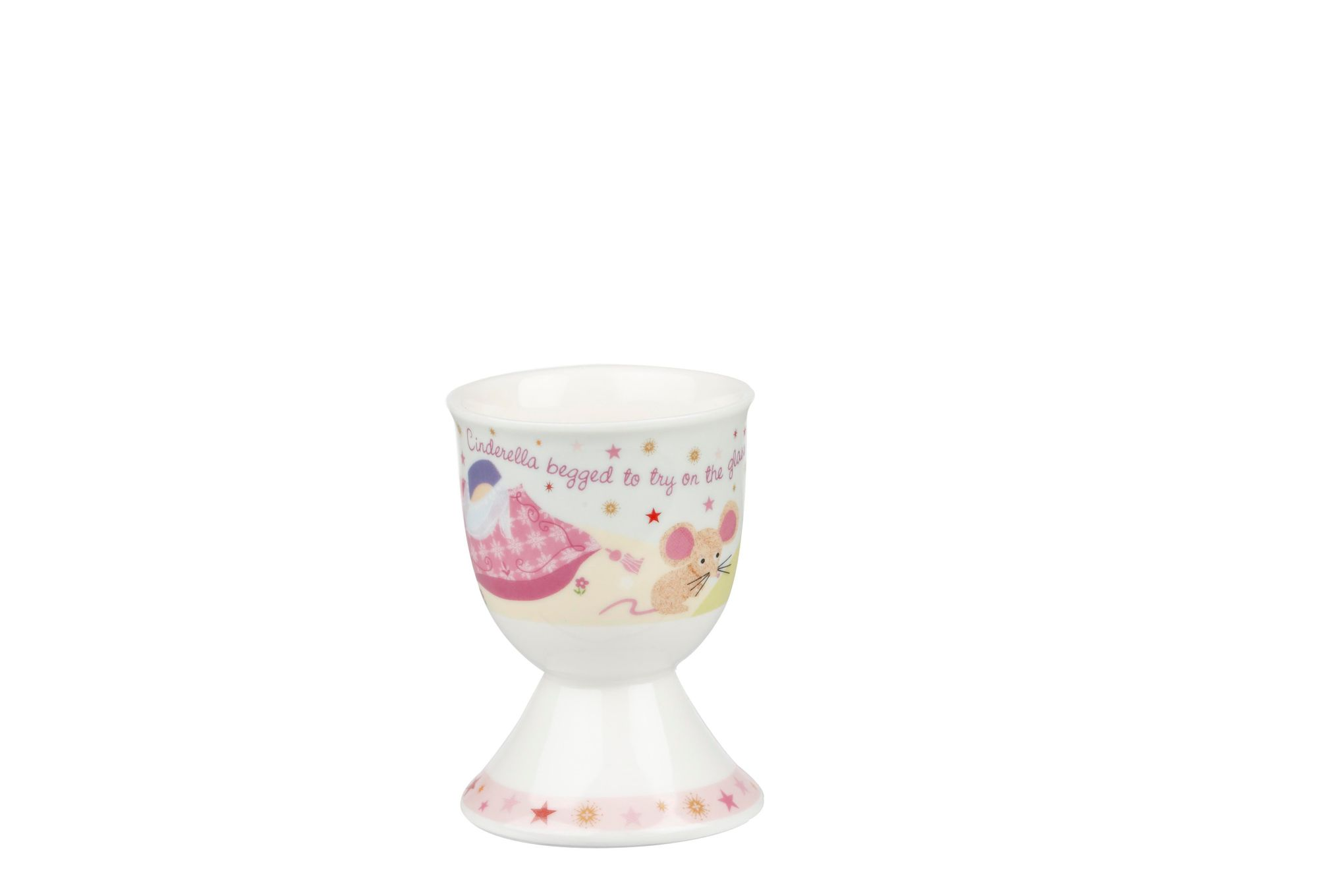 Churchill Little Rhymes Collection - Cinderella 4 Piece Breakfast Gift Box Set Set contains plate, bowl, egg cup and mug thumb 5