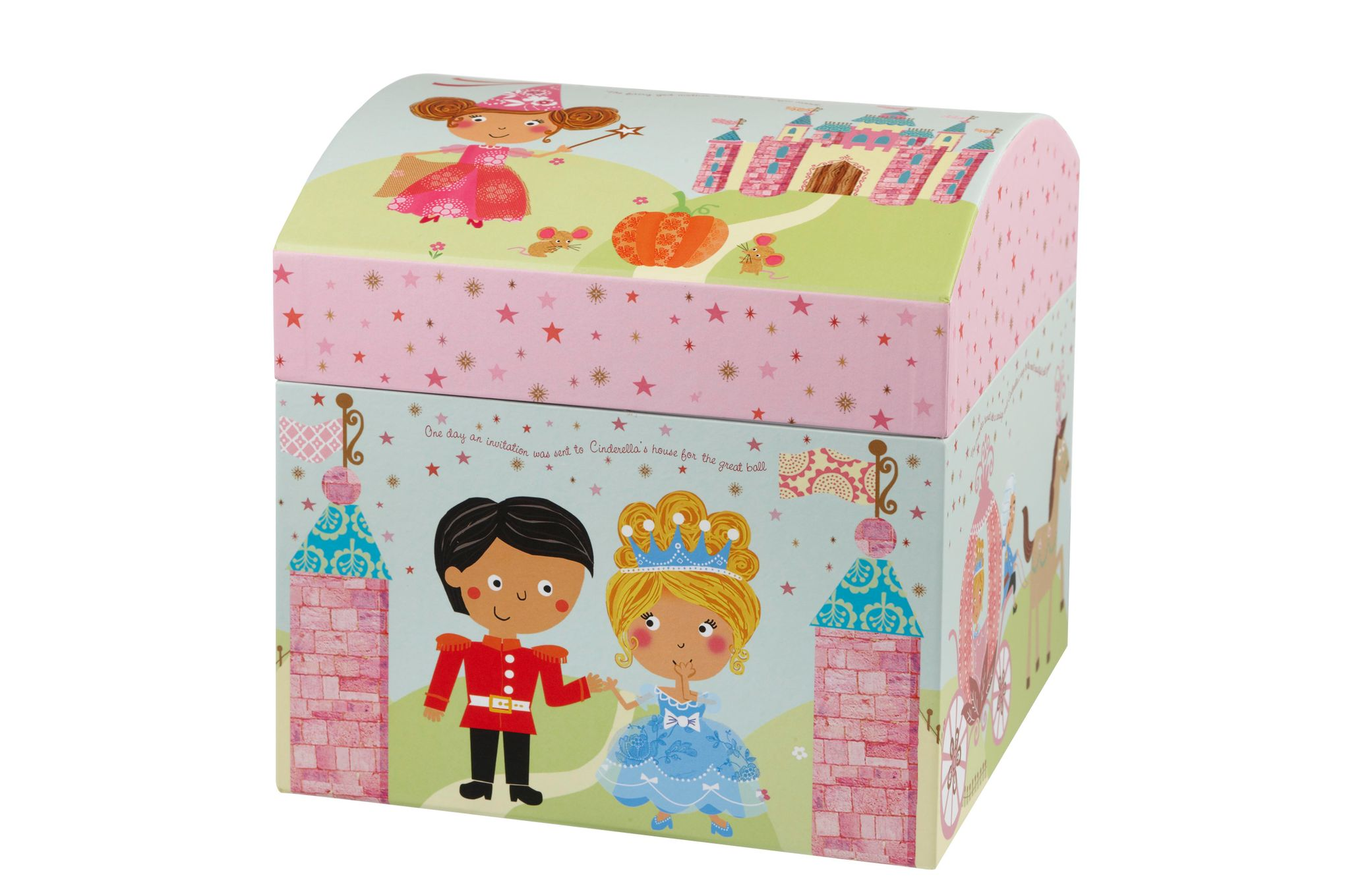 Churchill Little Rhymes Collection - Cinderella 4 Piece Breakfast Gift Box Set Set contains plate, bowl, egg cup and mug thumb 6