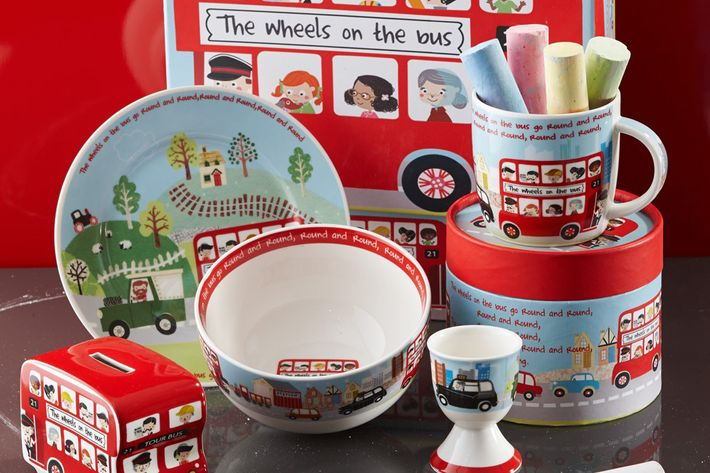 Churchill Little Rhymes Collection - Wheels On The Bus