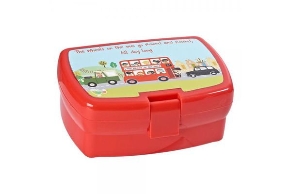 Churchill Little Rhymes Collection - Wheels On The Bus Sandwich Box