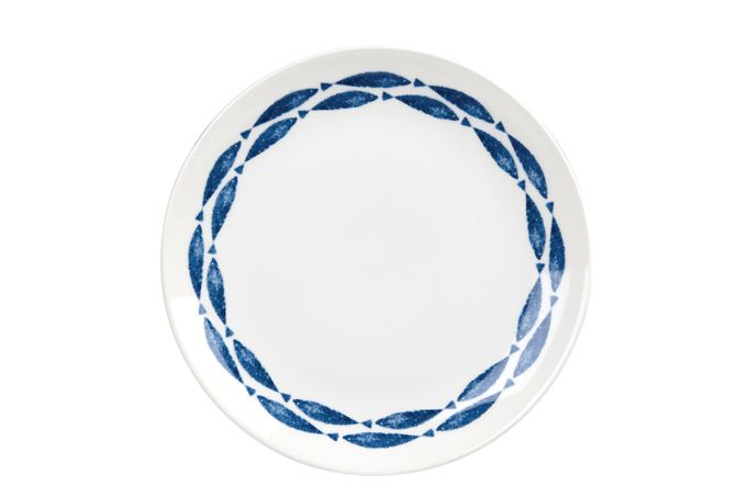 Churchill Sieni - Fishie on a Dishie Dinner Plate Spencer Fishie - New Version - No Ridges 26cm