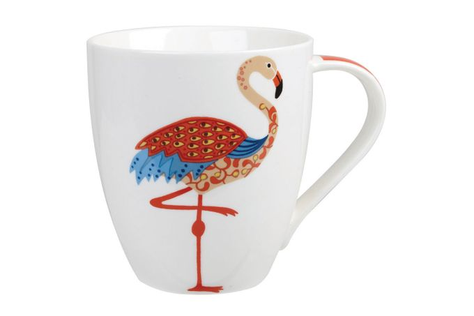 Churchill Couture Paradise Birds Mug Flamingo 500ml