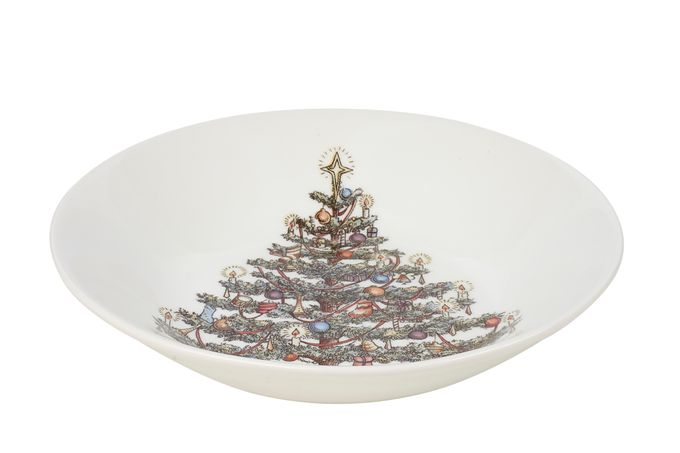 Churchill Christmas Tree Bowl Coupe 20cm