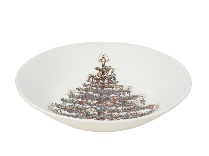 Churchill Christmas Tree Bowl Coupe 20cm