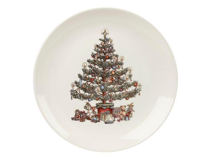 Churchill Christmas Tree Dinner Plate 26cm