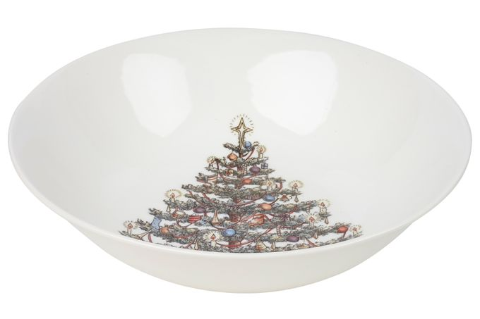 Churchill Christmas Tree Salad Bowl 24cm