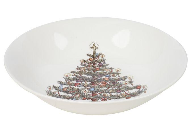 Churchill Christmas Tree Bowl Scollop Bowl 22cm