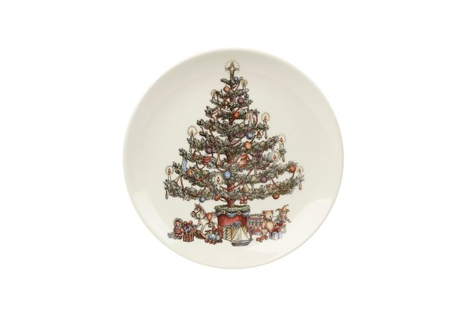 Churchill Christmas Tree Side Plate 20cm