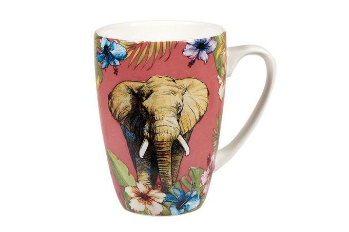 "Churchill Reignforest Mug Elephant 3 x 4 1/8"", 275ml"
