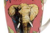 "Churchill Reignforest Mug Elephant 3 x 4 1/8"", 275ml thumb 2"