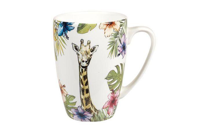 """Churchill Reignforest Mug Giraffe 3 x 4 1/8"""", 275ml"""