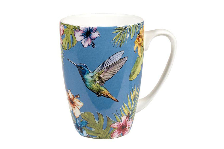 """Churchill Reignforest Mug Hummingbird 3 x 4 1/8"""", 275ml thumb 1"""
