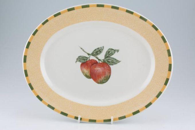 "Churchill Somerset Oval Plate / Platter 12 1/4"""