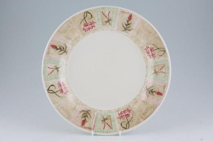 """Churchill Cottage Garden Dinner Plate 10 1/4"""""""