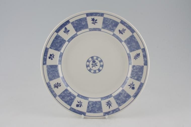 Churchill - Blue and White - Dinner Plate