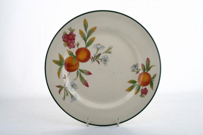 "Cloverleaf Peaches and Cream Breakfast / Salad / Luncheon Plate 8 7/8"""