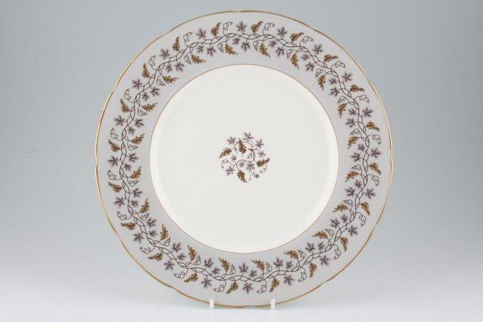 """Coalport Minerva - Grey Dinner Plate 10 7/8"""""""