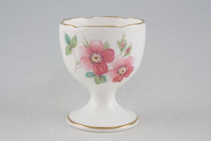 "Coalport Junetime Egg Cup wavy rim-footed 1 3/4 x 2 1/8"""