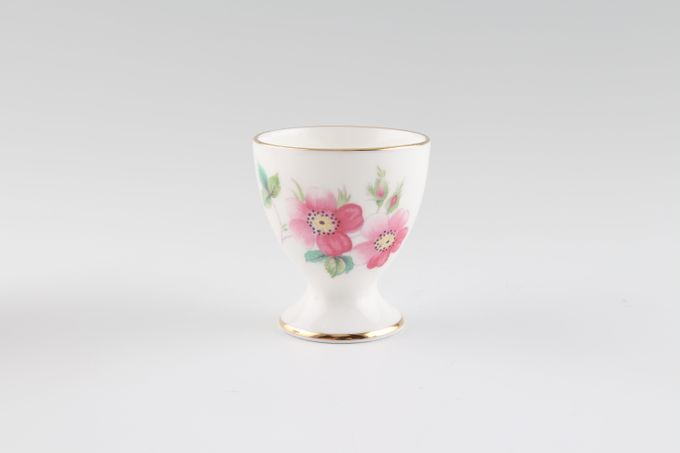 Coalport Junetime Egg Cup smooth rim-footed 1 3/4 x 2""