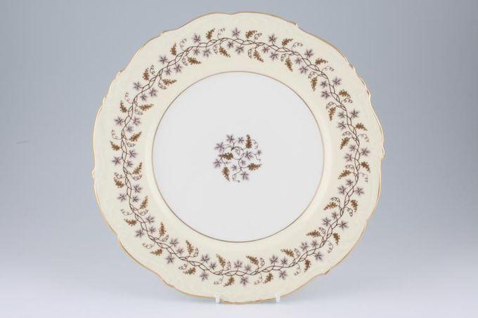 "Coalport Minerva Dinner Plate wavy rim 10 5/8"""