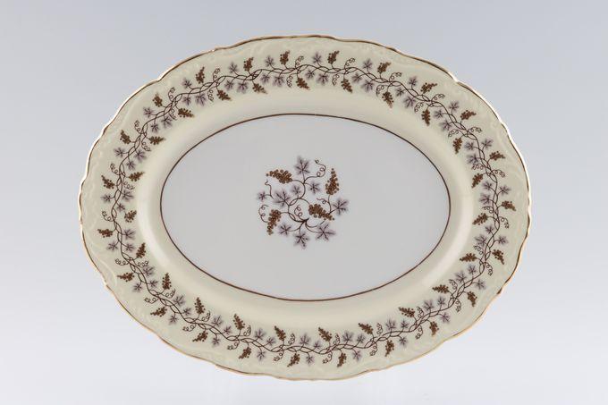 "Coalport Minerva Oval Plate / Platter 11 1/8"""