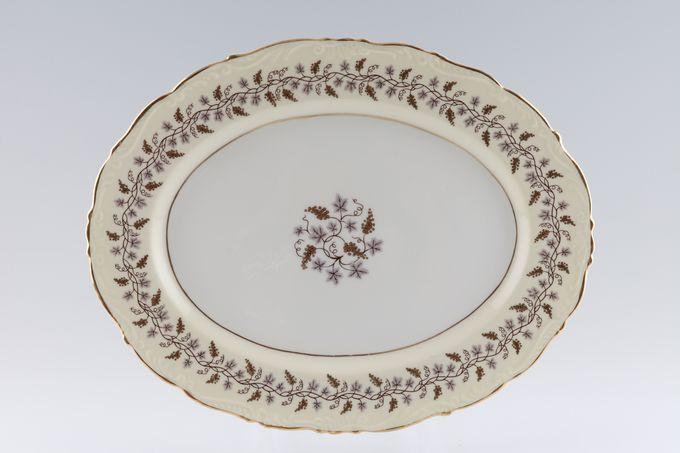"Coalport Minerva Oval Plate / Platter 13"""