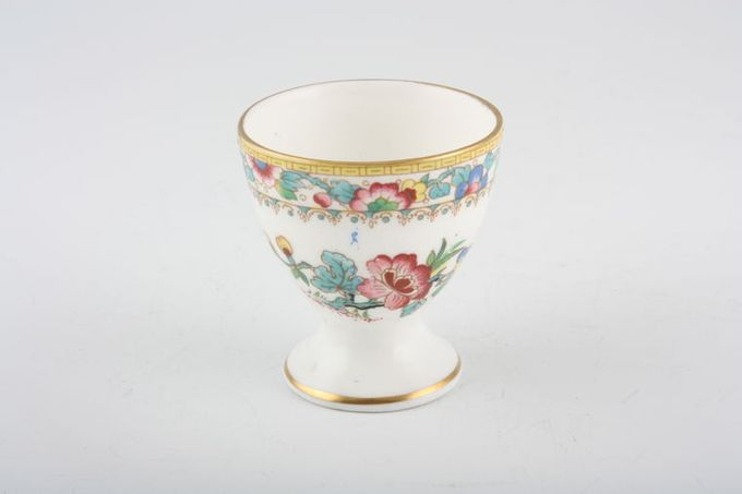 """Coalport Ming Rose Egg Cup footed 1 3/4 x 2"""""""