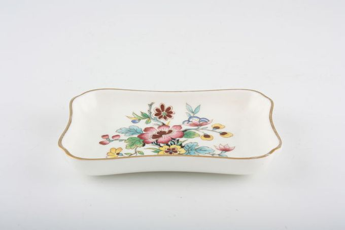 "Coalport Ming Rose Dish (Giftware) oblong 4 x 2 3/4"""