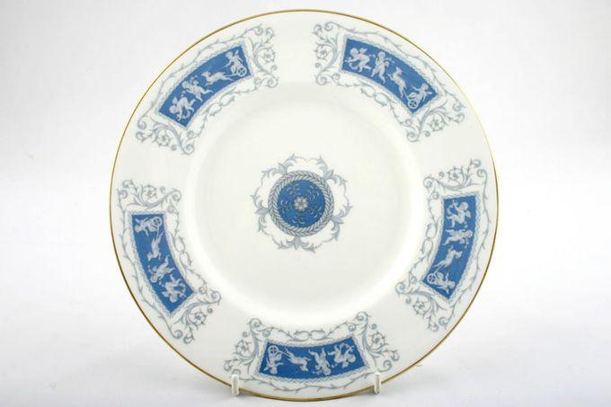 """Coalport Revelry - Blue Dinner Plate 10 5/8"""""""