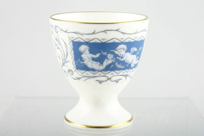 """Coalport Revelry - Blue Egg Cup footed 1 3/4 x 2"""""""