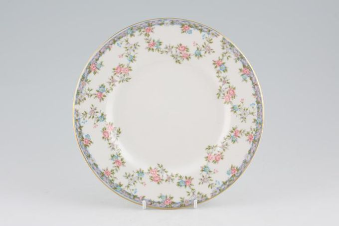 "Coalport Trellis Rose - Gold Edge Starter / Salad / Dessert Plate 8"""