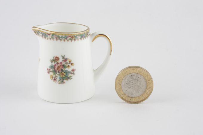 """Coalport Miniatures - Ming Rose Jug 1 3/4"""""""