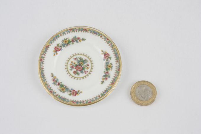"Coalport Miniatures - Ming Rose Plate 3"""