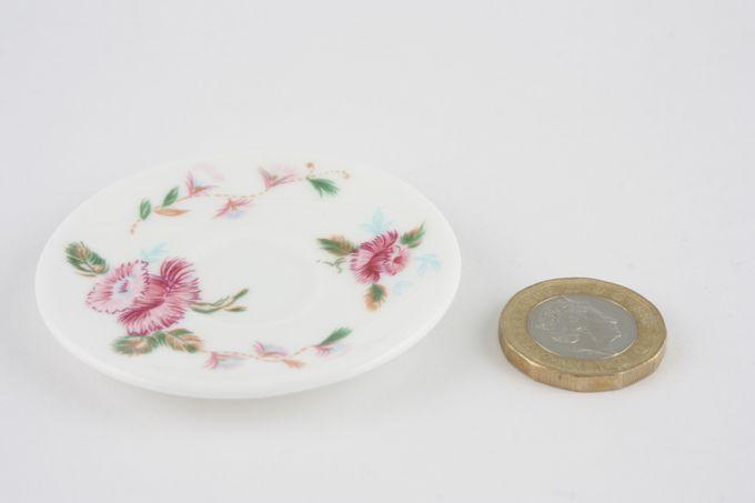 Coalport Miniatures - Mother 1980 Tea Saucer
