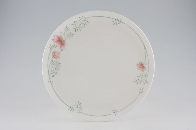 Coalport Fragrance - Pink Flowers Dinner Plate 10 3/4""