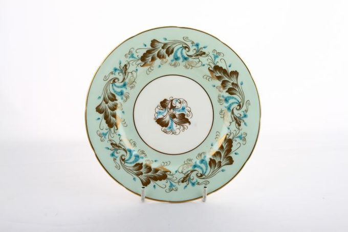 Coalport Strange Orchid - Green Tea / Side / Bread & Butter Plate 6 5/8""