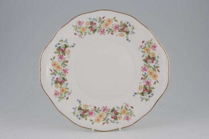 "Colclough Hedgerow - 8682 Cake Plate 10 1/4"""