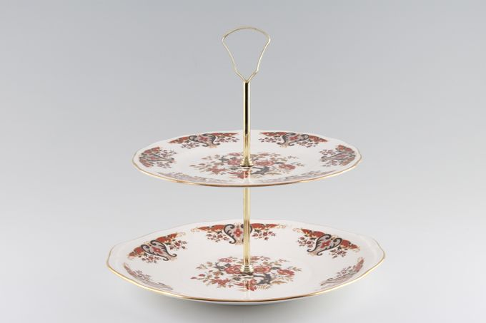 Colclough Royale - 8525 Cake Stand 2 tier