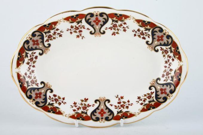 Colclough Royale - 8525 Sauce Boat Stand No well
