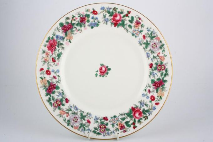 """Crown Staffordshire Thousand Flowers Dinner Plate Dinner 10 3/4"""""""