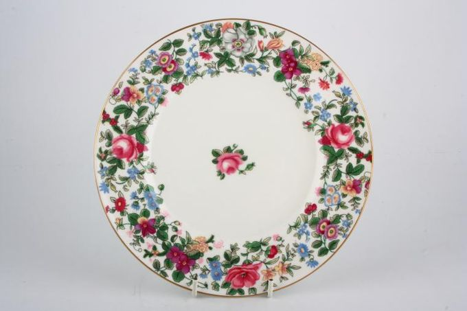 """Crown Staffordshire Thousand Flowers Breakfast / Lunch Plate 9 1/8"""""""