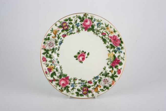 "Crown Staffordshire Thousand Flowers Tea / Side Plate 7 1/8"""