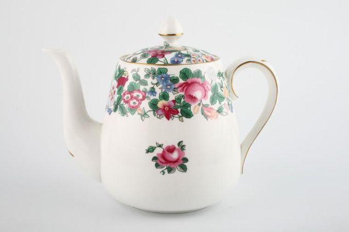 Crown Staffordshire Thousand Flowers Teapot 1 1/2pt