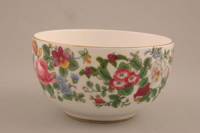 Crown Staffordshire Thousand Flowers Sugar Bowl - Open (Tea) Flower on inside 4 1/4""
