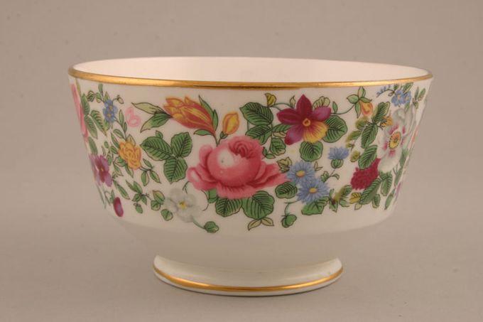 "Crown Staffordshire Thousand Flowers Sugar Bowl - Open (Tea) flower on inner 5 x 3"""